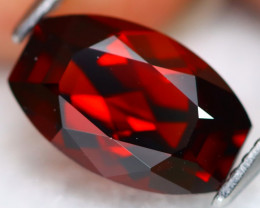 Almandine 3.35Ct Precision Cut Natural Red Almandine Garnet B0136