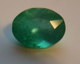 Tanzanian Emerald 1.00ct Oval Rare