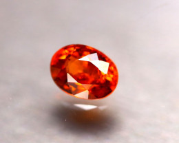 Garnet 1.00Ct Natural Vivid Orange Spessartite Garnet E0511/B34
