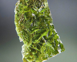 Moldavite 100% GENUINE! with two kinds of sculpture (texture)