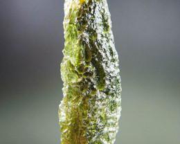 Certified Moldavite - Drop shape