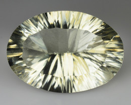 15.73 CT WHITE QUARTS TOP FANCY CUT GEMSTONE WQ8