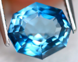 London Blue Topaz 3.83Ct VS Precision Master Cut Natural Topaz AN0201
