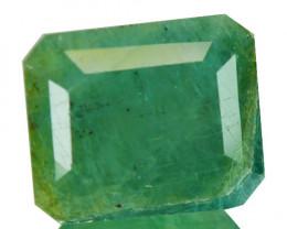 ~RARE~ 4.14 Natural Bluish Green Grandidierite Octagon Cut Madagascar
