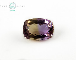 6.47 carats Natural Ametrine Gemstone Cushion cut