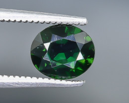 1.00 Crt  Chrome Tourmaline Faceted Gemstone (Rk-28)