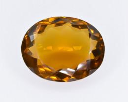 8.47 Crt  Conic Quartz Faceted Gemstone (Rk-28)