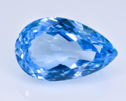 13.96 Crt Topaz  Faceted Gemstone (Rk-28)