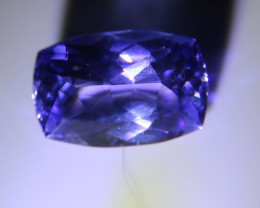 Tanzanite 1.30ct High Grade Cushion
