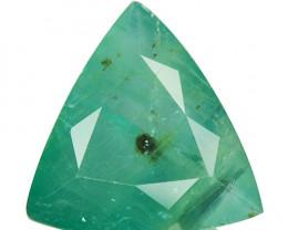 ~RAREST~ 6.10 Cts Natural Grandidierite Bluish Green Trillion Madagascar