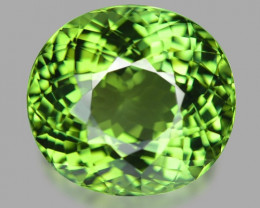 10.48 Cts Un Heated MINT GREEN Color Natural Tourmaline Loose Gemstone