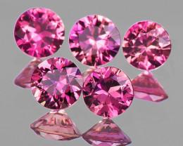 3.20 mm Round 5 pcs Pink Sapphire [VVS]