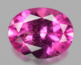 1.77 Cts Un Heated Pink Color Natural Tourmaline Loose Gemstone