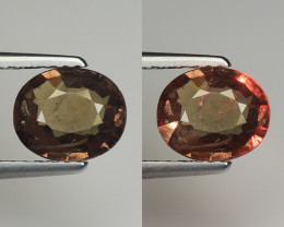 1.41 CT COLOR CHANGE GARNET TOP CLASS GEMSTONE CC1