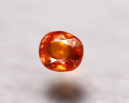 Garnet 1.16Ct Natural Vivid Orange Spessartite Garnet E0708/B34