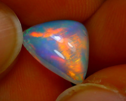 Welo Opal 1.64Ct Natural Ethiopian Play of Color Opal E0735/A28