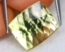 Prasiolite 5.68Ct VVS Designer Cut Natural Brazilian Prasiolite B0305