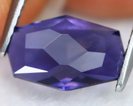 Iolite 1.82Ct VVS Precision Master Cut Natural Purplish Blue Iolite B0306