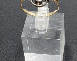 Antique Pearl & Diamond Ring.