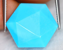 Turquoise 10.97Ct Natural Blue Color Sleeping Beauty Turquoise B0330
