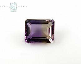 10.91  carats Natural Ametrine Gemstone Octa cut