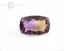 11.95 carats Natural Ametrine Gemstone Cushion cut
