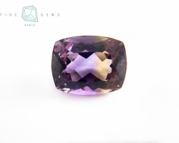 12.93 carats Natural Ametrine Gemstone Cushion cut