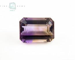 IGTL Certified 18.09 carats Natural Ametrine Gemstone Octa cut