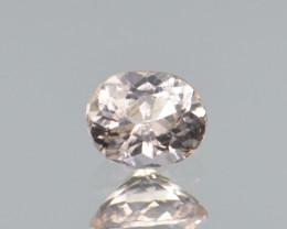 Natural Pink Topaz 0.70 Cts Rare Gemstone from Katlang, Pakistan