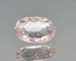 Natural Pink Topaz 1.25 Cts Rare Gemstone from Katlang, Pakistan