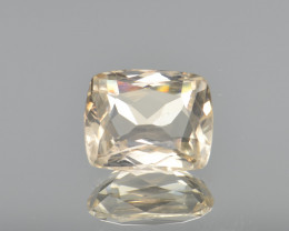 Natural Yellow Topaz 4.11 Cts Rare Gemstone from Katlang, Pakistan