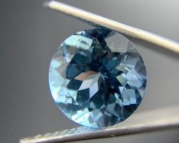 13.50 ct Natural Blue Topaz Round cut sky blue loose gemstone Ideal for mou