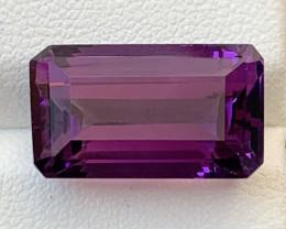 12.65  Carats Amethyst  Gemstone