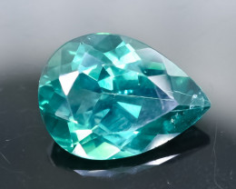 9.14 Crt Natural Topaz Faceted Gemstone.( AB 58)