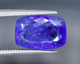 4.63 Crt Natural Tanzanite Faceted Gemstone.( AB 58)