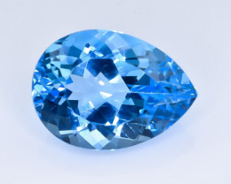 21.26 Crt Natural Topaz Faceted Gemstone.( AB 58)