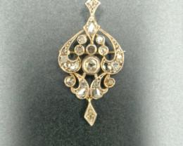 Antique Broach 18ct Gold