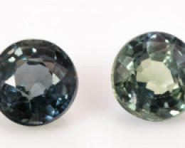3.30 mm Sapphire 1.34 ct  Tanzania GPC Lab