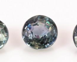 3.20 mm Sapphire 0.60 ct Tanzania GPC Lab