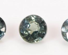 3.15 mm Sapphire 0.95 ct  Tanzania GPC Lab