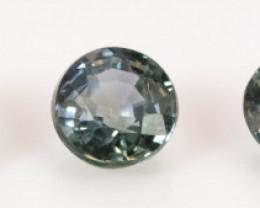 3.40 mm Sapphire 1.12 ct  Tanzania GPC Lab