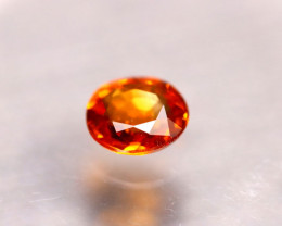 Garnet 1.02Ct Natural Vivid Orange Spessartite Garnet D0802/B34