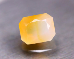 Fire Opal 3.54Ct Natural Faceted Mexican Yellow Fire Opal D0823/A2