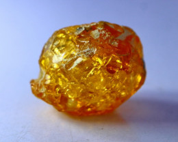 47.15 CT Natural - Unheated Orange Opal Rough