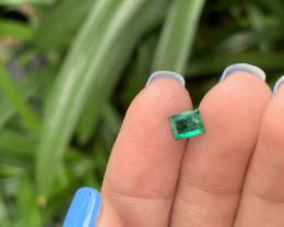 0.78rectangular cut emerald rrp400
