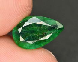 2.10 Ct Brilliant Color Natural Zambian Emerald