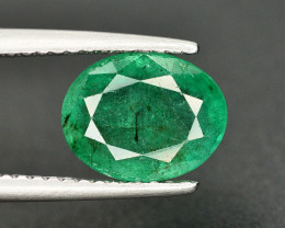 1.95 Ct Brilliant Color Natural Zambian Emerald