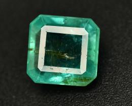 2.45 Ct Brilliant Color Natural Zambian Emerald
