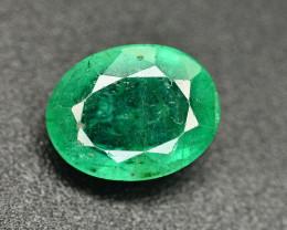 1.95 Ct Brilliant Color Natural Zambian Emerald