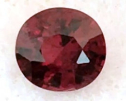 1.40ct Deep  Red Spinel -  Sri Lanka     SL26a H671
